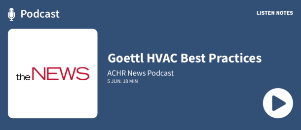 Podcast - Goettl HVAC Best Practices