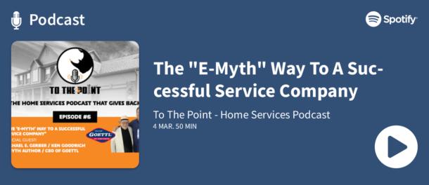 Podcast - The E-Myth Way To A Successful Service Company