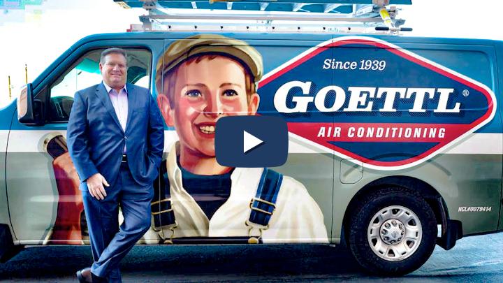 Ken Goodrich with Goettl Truck w/ Play Button